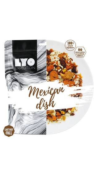 Lyofood Mexican Dish Big Pack 126g
